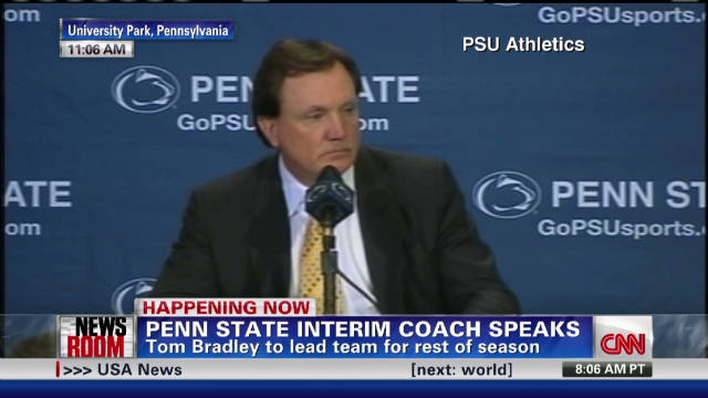 Tom Bradley named interim coach