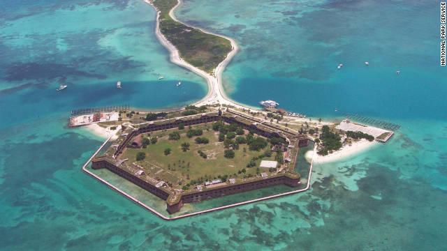 Dry Tortugas is one of the National Park Service's most inaccessible destinations.