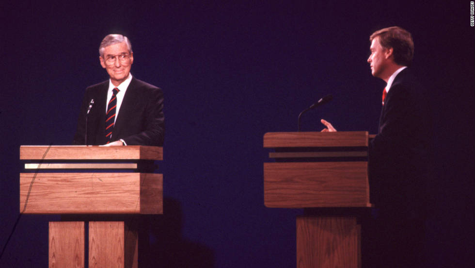 "During the 1988 vice presidential debate, Sen. Lloyd Bentsen, the running mate of Walter Mondale, shot back at his opponent, Rep. Dan Quayle, about a comparison between Quayle and JFK: ""Senator, I served with Jack Kennedy: I knew Jack Kennedy; Jack Kennedy was a friend of mine. Senator, you're no Jack Kennedy."""