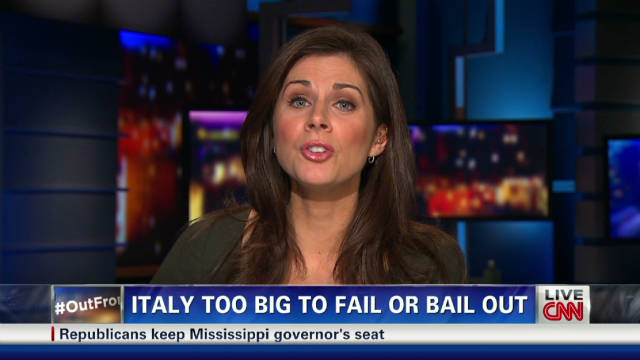 Erin Burnett's bottom line on Italy