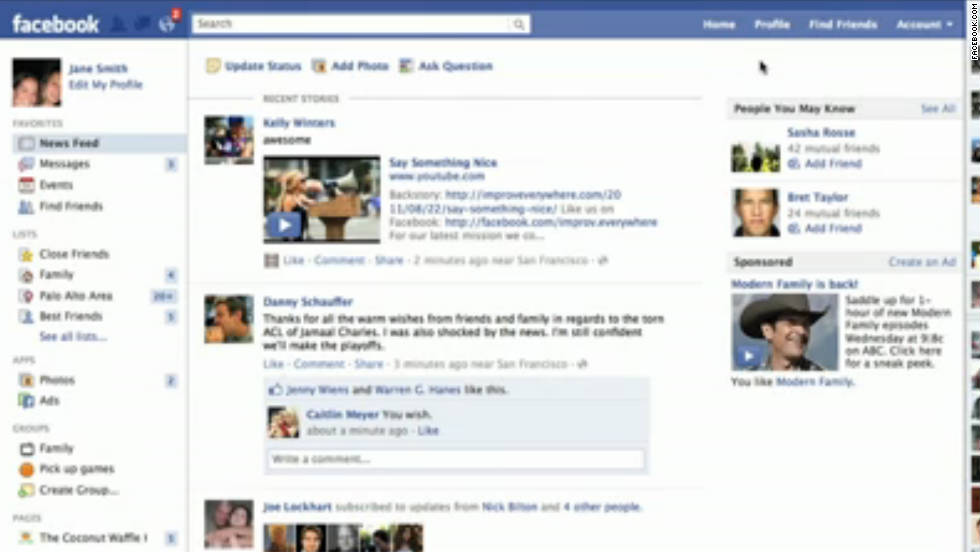 Facebook opens to anyone older than 13 with a valid e-mail address. That same month, the site introduces its News Feed, which highlights updates, photos, etc., from friends within your network. Users revolt, starting petitions to change Facebook back, although -- as with most Facebook changes -- they eventually grow to embrace the feature.