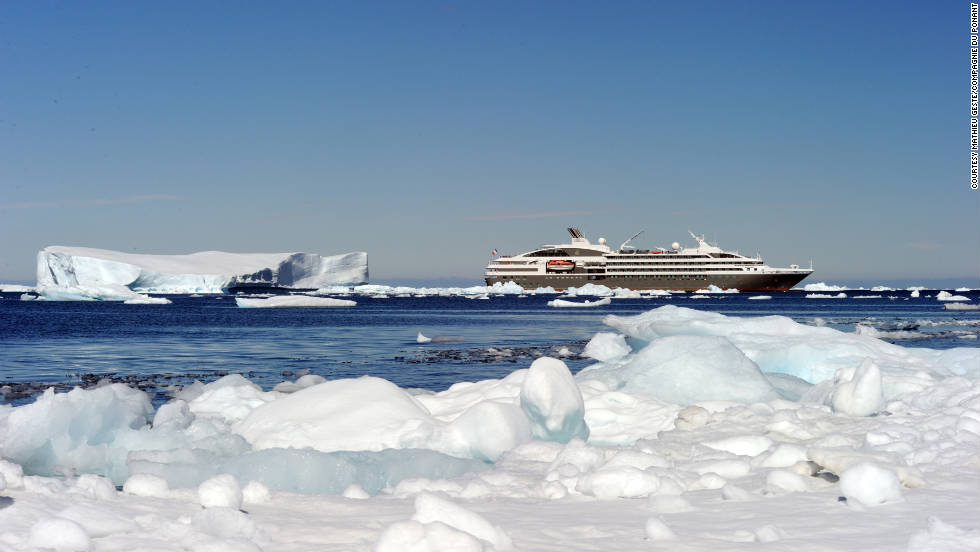 In its inaugural season, Compagnie du Ponant's new super yacht L'Austral is operating six voyages to Antarctica from the foot of Argentina.