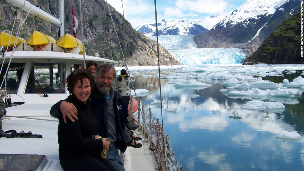 The Island Odyssey nudges deep into the narrow passages of southeast Alaska that giant cruise liners are too big to navigate.