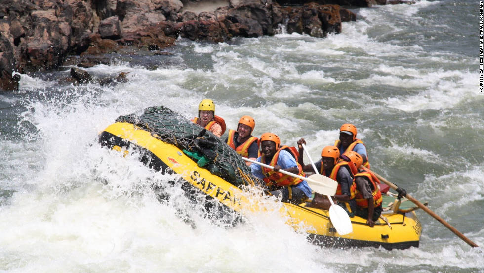 The Zambezi Safari and Travel Company offers the thrill of pitting your wits against the top-graded rushing water below the Victoria Falls. The one-day trip is considered the best white-water experience.
