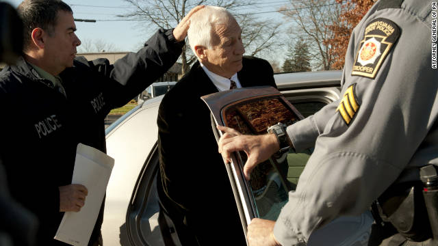 Sandusky: 'I've horsed around with kids'