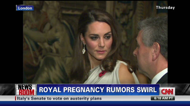 Royal pregnancy rumors swirl