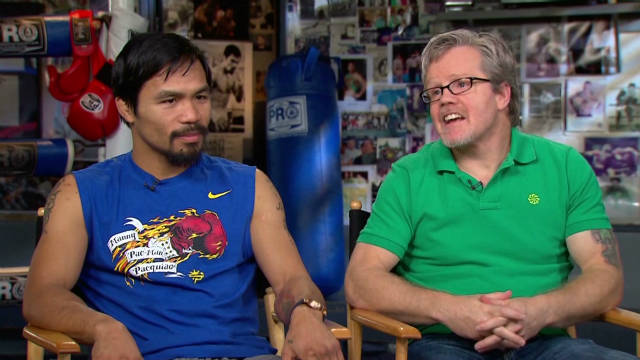 Roach on Pacquiao's celebrity status