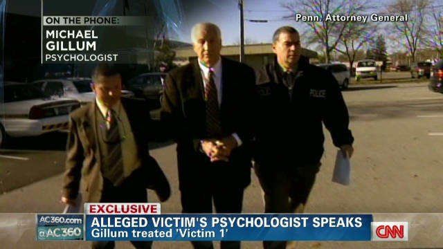 Alleged victim's psychologist speaks
