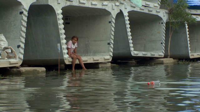 Bangkok's cement refuge
