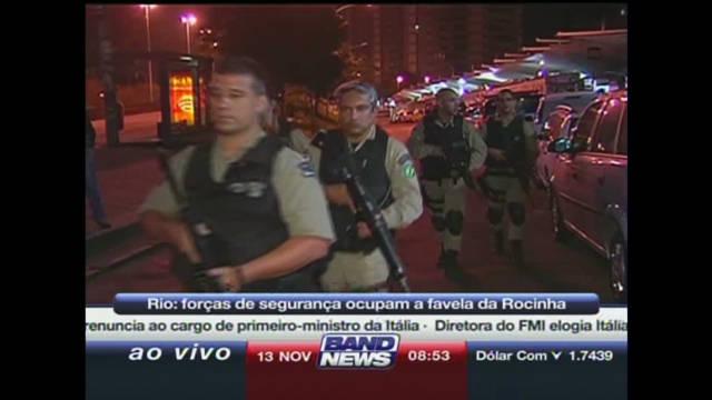 Rio police storm city's largest slum
