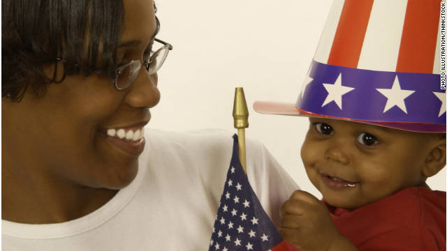 Moms are bringing politics to life on their blogs and within their homes.