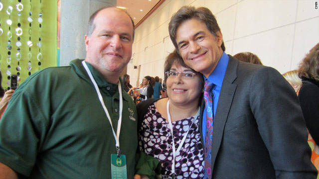 Patti and Cliff Roberts met Dr. Mehmet Oz at O Magazine's O You! conference in Atlanta.
