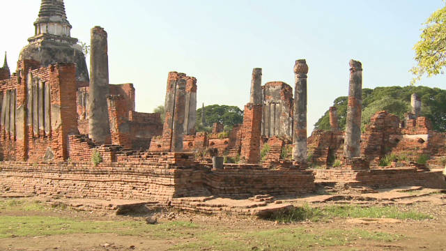 Famed Thai temple site re-emerges