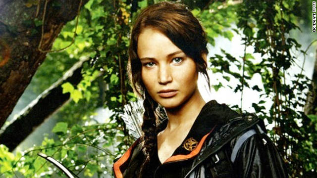 """How-to-dress like Katniss"" web pages, blog posts and articles are being bookmarked and pinned up by girls of all ages."