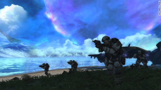 "The artificial-intelligence system from the first game was kept intact for ""Halo Anniversary."""