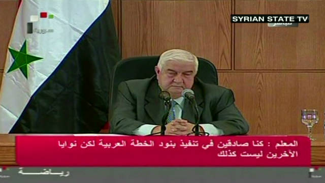 Syria angry over Arab League suspension