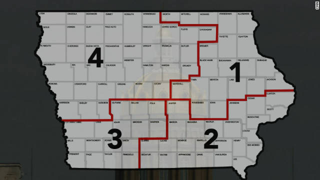 Iowa, with its regular-shaped districts, will host the only 2012 House faceoff between Democratic and GOP incumbents.