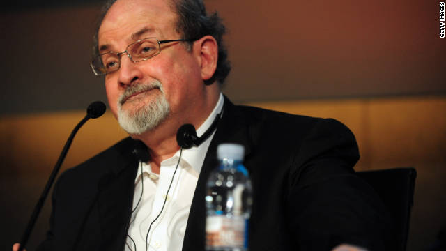 "Salman Rushdie, an India-born author, is famous for writing ""The Satanic Verses."""