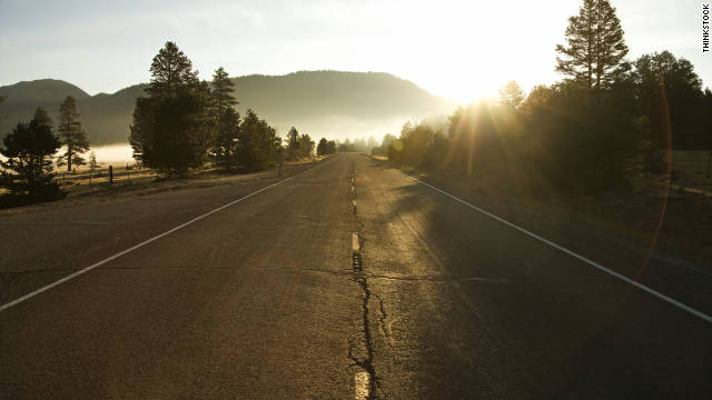 Would paying a 2-cent tax for every mile you drive take the fun out of the great American road trip?