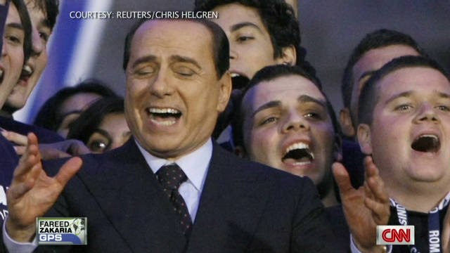 Last Look: Berlusconi's new gig