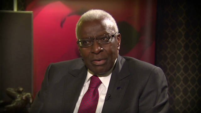 IAAF chief on corruption allegations