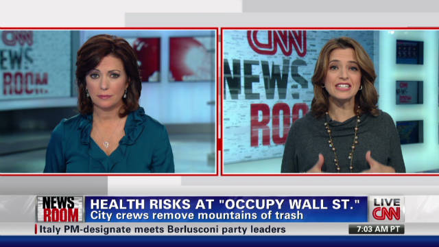 Health concerns over Occupy movement