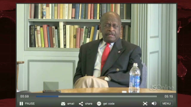 Cain campaign responds to Libya 'flub'