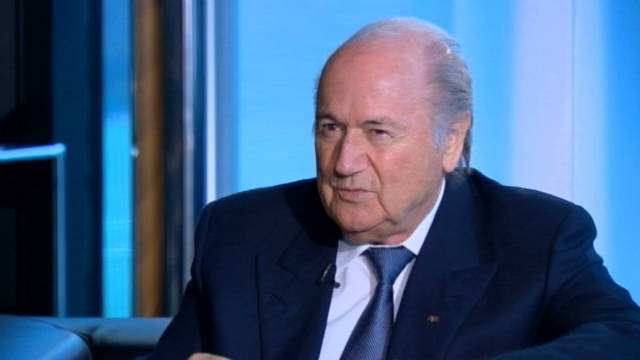 Sepp Blatter talks racism in football