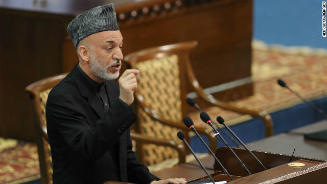 President Hamid Karzai has condemned what he said was a bombing by coalition forces that killed seven civilians in southern Kandahar province.
