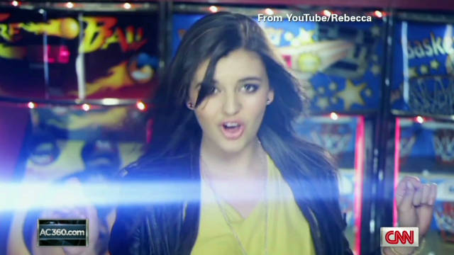 YouTube sensation Rebecca Black topped Google's hot searches of the year, even if everyone searching wasn't a fan.