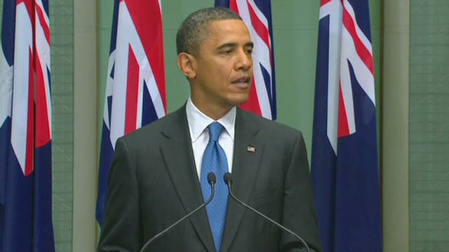 Obama: Play larger role in Australia