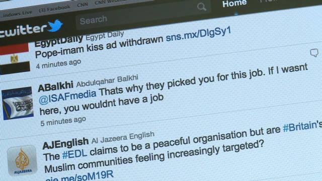 Afghan Twitter war