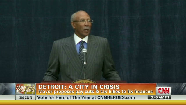 Detroit mayor's plan to save the city