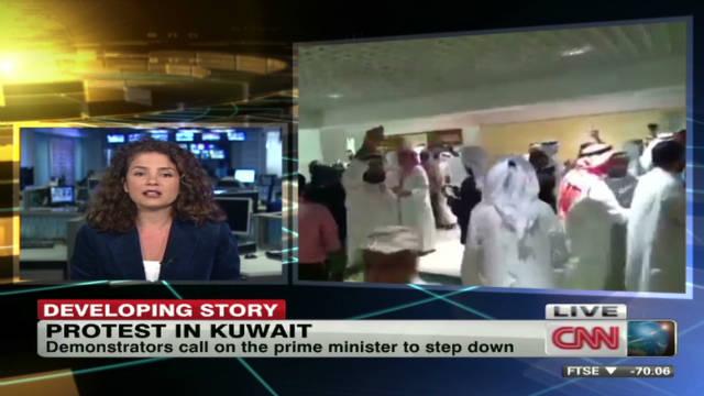 Protesters demand change in Kuwait