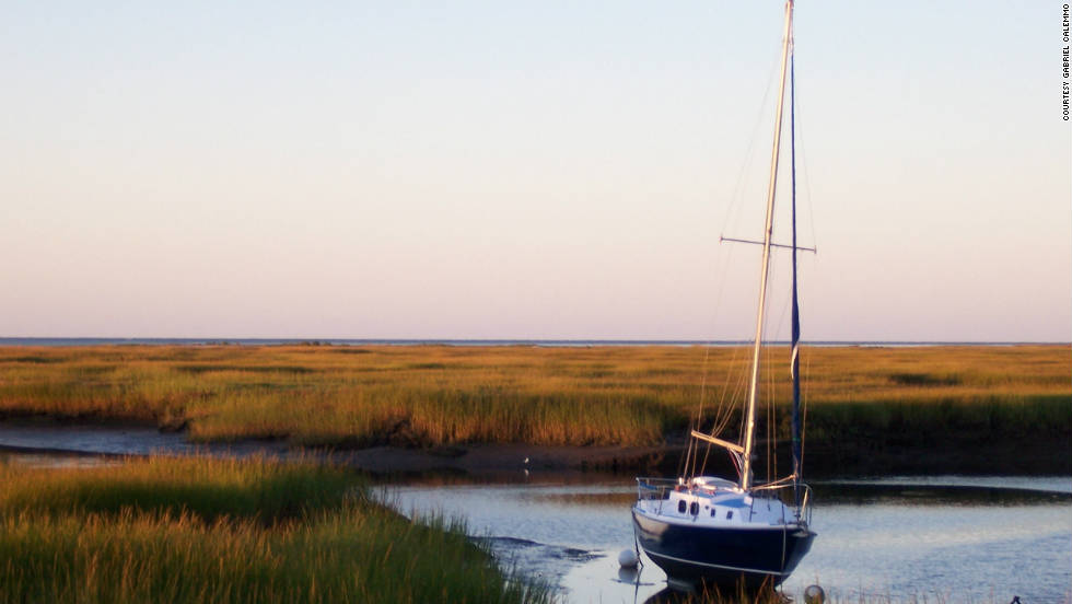 "Gabriel Calemmo took this photo of the marsh in Cape Cod. ""Cape Cod is the hidden gem of vacation spots in the Northeast."""