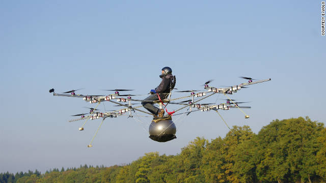 The e-volo 'Multicopter' makes its maiden unmanned voyage