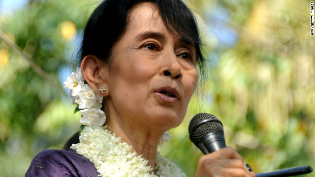 U.S. diplomats will meet with Myanmar opposition leader Aung San Suu Kyi this week.