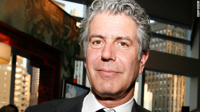 "Anthony Bourdain: ""We're always looking for unspoiled, authentic (restaurants). And then we put them on TV and ruin them."""