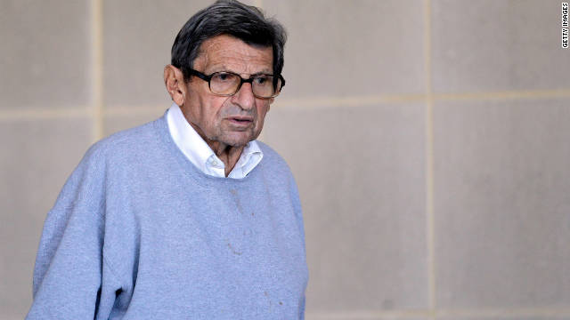 The legal effect of Paterno's death