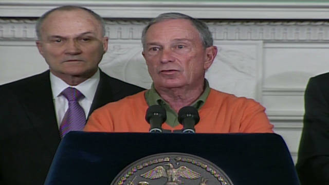 Bloomberg announces terror arrest