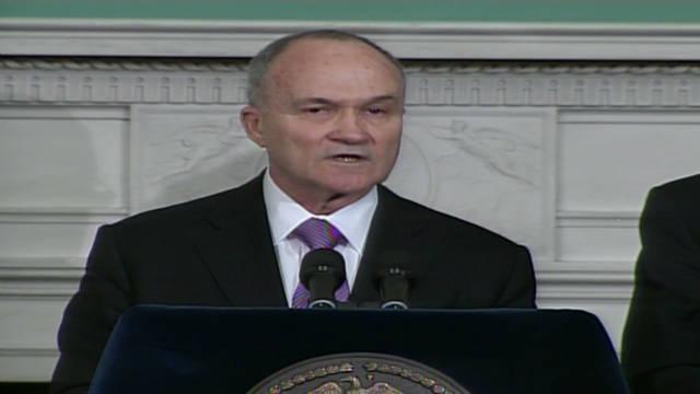 Commissioner Kelly details terror arrest
