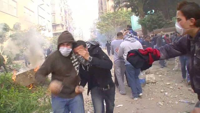 Timeline of Tahrir Square's violence