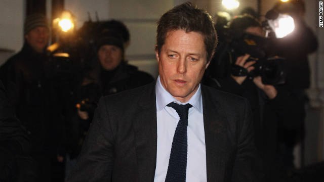 Actor Hugh Grant was among celebrities giving evidence to lawmakers over allegations of press intrusions
