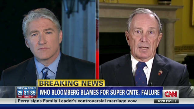 Bloomberg: Obama needs to step up