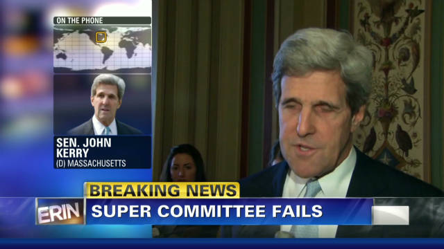 Kerry: Job didn't get done