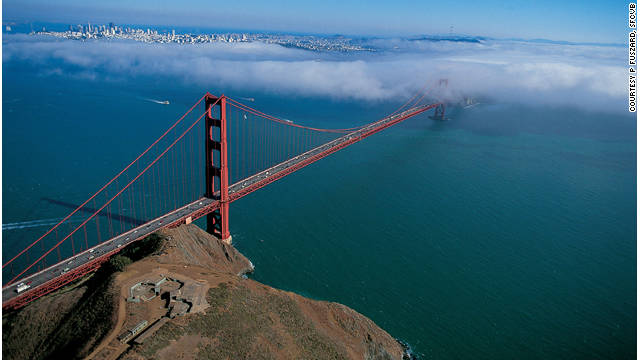 The Golden Gate Bridge is as much a part of San Francisco's identity as the city's nearly constant fog.