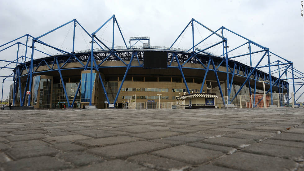 The Kharkiv Stadium is the home ground of Ukrainian team Metalist Kharkiv and was renovated ahead of next year's tournament. The venue for three Group B matches, the ground can hold 38,000 fans.