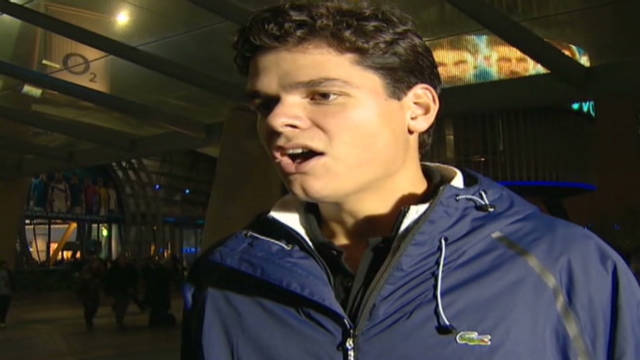 Milos Raonic talks tennis