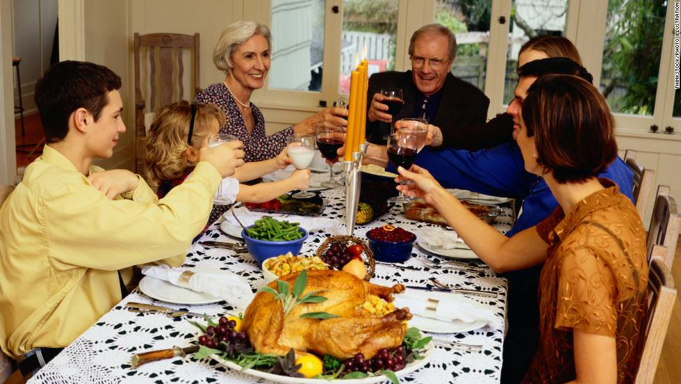 "Be prepared to exercise: The Calorie Control Council says the average person will eat 4,500 calories on Thanksgiving this year. That's 3,000 for dinner and another 1,500 for ""snacking and nibbling"" -- a nice way of saying ""all the food you'll eat while waiting for the turkey to cool."""