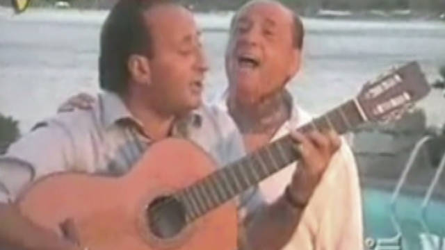 Berlusconi releases album of love songs